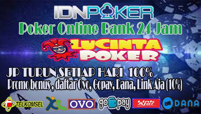 Poker Online Bank 24 Jam